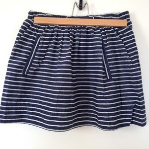 J Crew mini skirt with pockets size S
